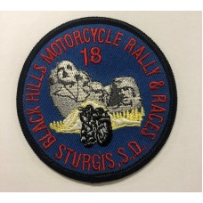 BH Motorcycle Rally and Races 2018 Patch