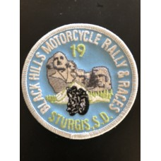 BH Motorcycle Rally and Races 2019 Patch
