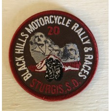 BH Motorcycle Rally and Races 2020 Patch